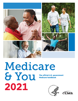 Medicare & You 2021 cover